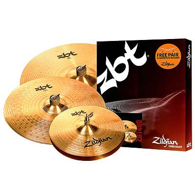 ! Aktion! Zildjian ZBT Becken Box Set ZBT460 Neu!