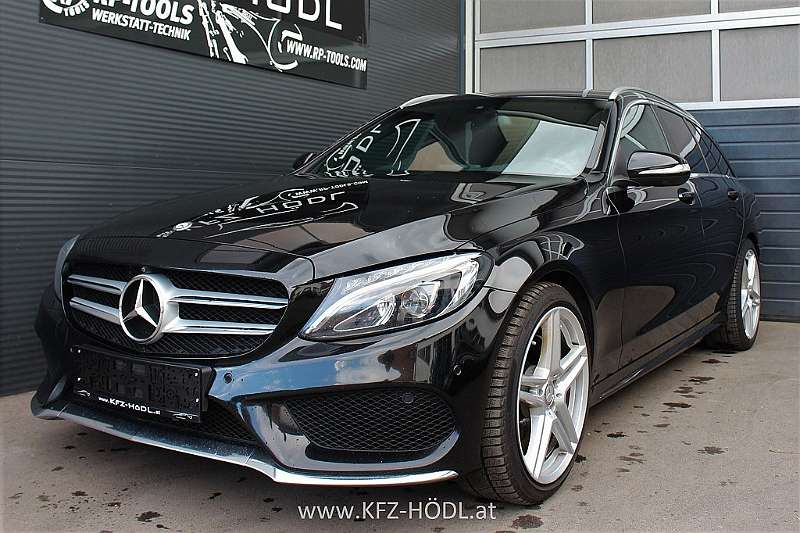 mercedes benz c klasse c 200 t bluetec amg line a edition. Black Bedroom Furniture Sets. Home Design Ideas