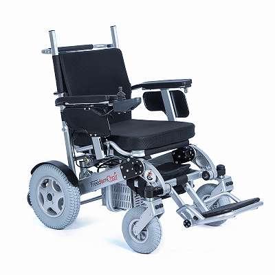 faltbarer Elektro-Rollstuhl A09, bis 227 Kg Nutzergewicht, Reisen Heavy Duty