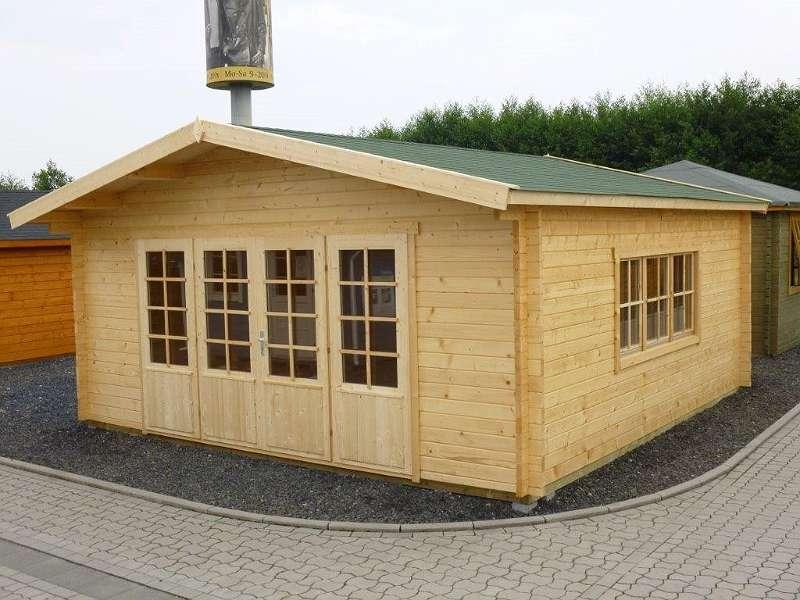 Fußboden Gartenhaus Holz ~ Gartenhaus aus holz m mit fußboden blockhaus inkl
