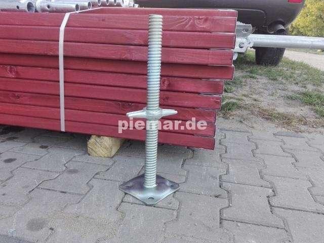 Baugerüst NEU Fassadengerüst Typ Plettac 78 qm mit Bordbretter Typ Plettac Gerüst Stahlrahmen Kompatibiles