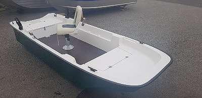 NEU 340 Angelboot Ruderboot Motorboot Badeboot GFK Boot mit CE
