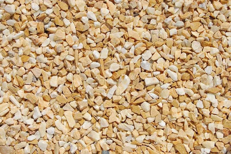 Marmorsplitt (trocken)