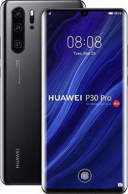Huawei P30 Pro Dual-SIM 128GB/6GB schwarz / Neu