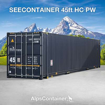 45ft (13,7m) HC PW Seecontainer / Lagercontainer / Container