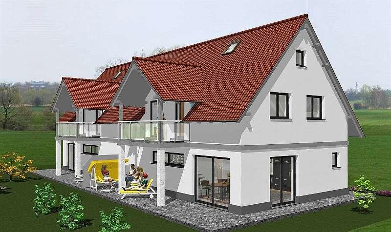 Gut gemocht Doppelhaushälfte mit Garten, Terrasse und einem Carport UI86