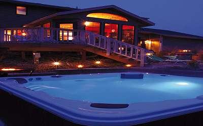 Outdoor Whirlpool Bluewater Spas® Modell Bozen, 211x170x90cm, versandkostenfrei, weitere Modelle auf unserer Homepage