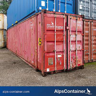 45ft HC Seecontainer / Lagercontainer, gebraucht