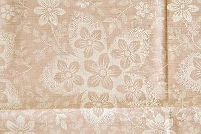 RIESIG 3 - sehr schönes, original altes Tischtuch aus hochwertigem Baumwoll-Damast | Tafeltuch Fest Feier Wohnzimmer Küche Tischdecke diverse Farben und Muster Geschirr Set