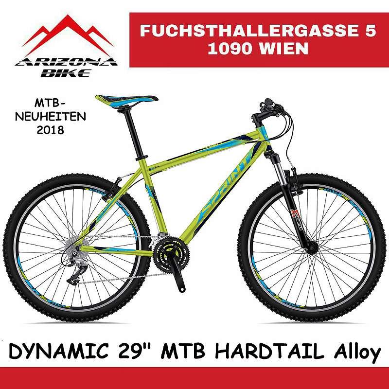 """NEU! SALE TOLLE WEIHNACHTSAKTION DYNAMIC 29"""" Mountainbike HARDTAIL Alloy Super Fahrrad, Herren und Damen Fahrrad, ALU FAHRRAD, HERGESTELLT in der EU!"""