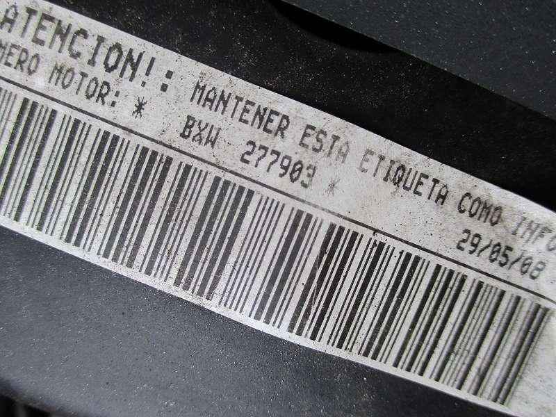 Motor 1,4 16V BXW 1.390ccm 63KW 85PS Seat VW Skoda Audi CGG CGGA CGGB Leon Golf Polo Ibiza Fabia Caddy....