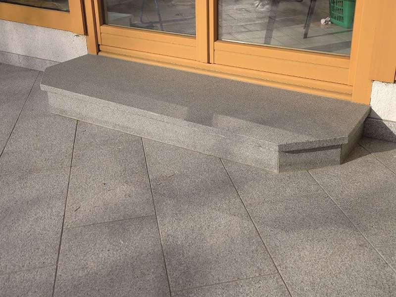 Granit Padang Dark Trittstufe geflammt 150/35/3cm od. 250/35/3cm Euro=86,70-/m²