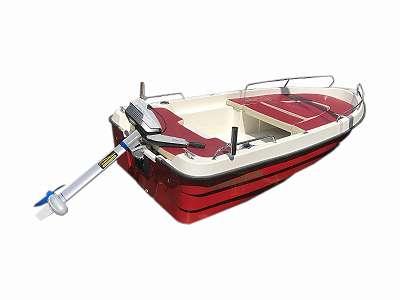 Z 430 DL, günstiges Austellungsstück, Sonnendeck, Polsterungen, Reeling, Rutenhalter uvm. Motorboot, Badeboot, Angelboot, Fischerboot
