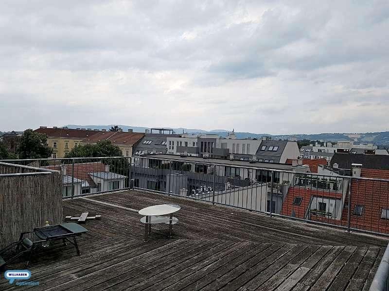 Bild 1 von 7 - Dachterrasse mit Fernblick