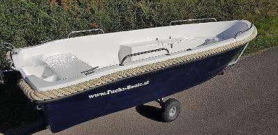 400 Angelboot Ruderboot Fischerboot Anglerboot Familienboot Badeboot Freitzeitboot mit Liegefläche Fuchs-Boote