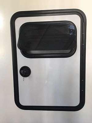 Teardrop Trailer Tür Modell Airjet