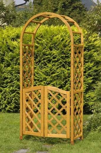 Rosenbogen Holz Kesseldruckimprägniert ~ Bild 7 Made in Austria aus heimischen Holz Pavillon & Gartenlauben