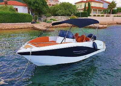 Neu Barracuda 545 Open Motorboot Elektroboot