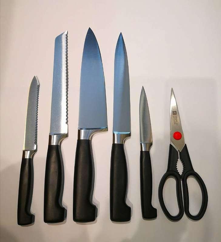 Messerübersicht ohne Block