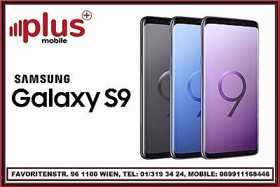 SAMSUNG GALAXY S9 64GB MIDNIGHT BLACK, REFURBISCHED, NEU