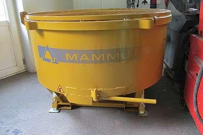 Mammut TM 150 Betonmischer, Zwangsmischer, Netto Eur. 2.340, -