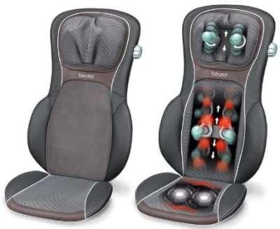Beurer MG290 Shiatsu-Sitzauflage 3D Massage Schwarz