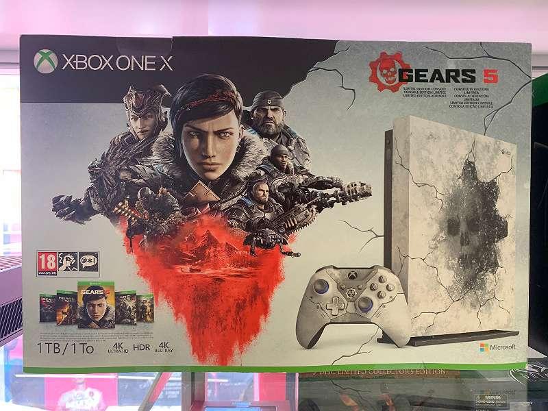 Xbox One X Gears of War Limited Edition inkl. Spiel u. Rechnung!