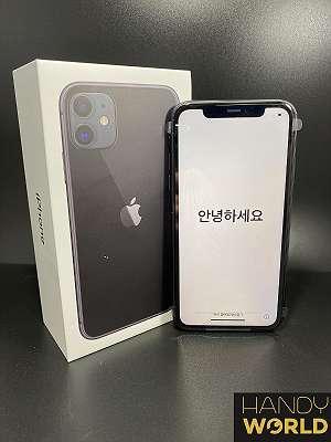 Apple iPhone 11 - Black - 128 GB - NEU - Frei