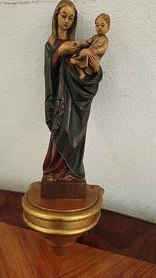 Holz Mutter gottes
