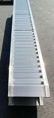 Aluminium Laderampen/ Verladerampe/ Auffahrrampen