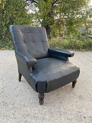 Retro Relax Armlehnstuhl Leder Sessel
