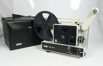 EUMIG MARK 605 D NORMAL 8 UND SUPER 8 FILMPROJEKTOR NEUWERTIG ! MIT LEERSPULE MIT STAUBSCHUTZHÜLLE - NEUE LAMPE - NEUER RIEMEN-