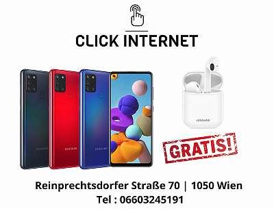 Samsung Galaxy A21S 32GB/3Gb A217/ DS, Schwarz, Weiss, Blau/ Nagelneu, Org. Versiegelt/ Werksoffen, Frei Für Alle Simkarten/ Mit Hersteller Garantie