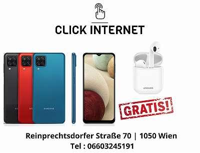 Samsung Galaxy A12 A125F/ DSN 64GB, Schwarz, Weiss/ Nagelneu, Org. Versiegelt/ Werksoffen, Frei Für Alle Simkarten/ Mit Voller Hersteller Garantie