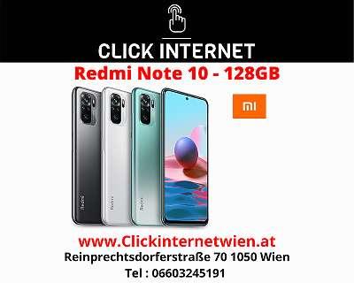 Xiaomi Redmi Note 10 128GB/4GB ALLE FARBEN / Nagelneu, Org. Versiegelt/ Werksoffen, Frei Für Alle Simkarten/ Mit 12 Monate Hersteller Garantie