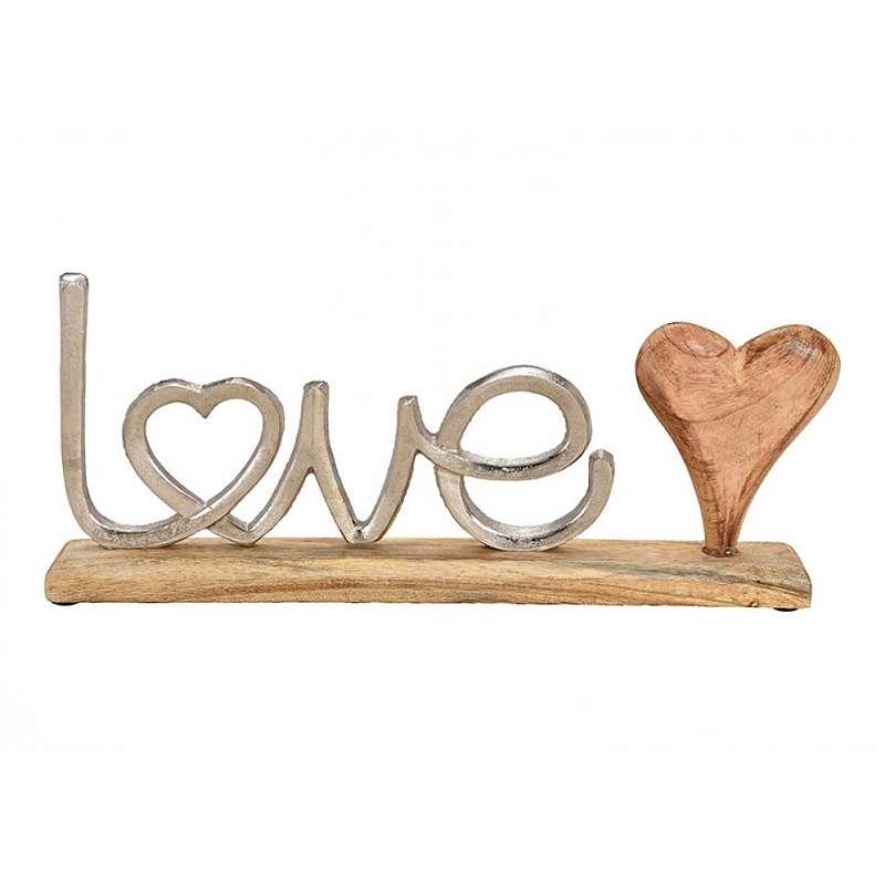 Aufsteller-Love 40 cm