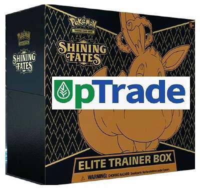 Pokemon Glänzendes Schicksal Elite Trainer Box