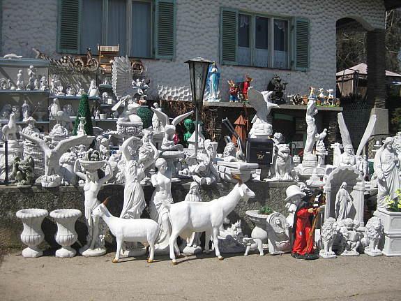 Steinfiguren Garten gutschein geburtstag hochzeit muttertag vatertag jubiläum