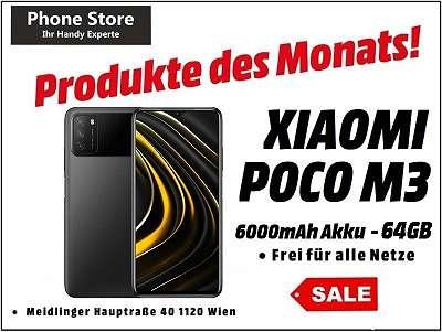Xiaomi Poco M3 64GB /4GB RAM Power Black / Nagelneu, Org. Versiegelt/ Werksoffen, Frei Für Alle Simkarten/ Mit 12 Monate Hersteller Garantie/