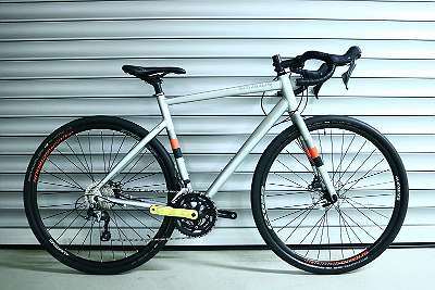 Fahrrad Valparola X Disc Hydro chrome silver
