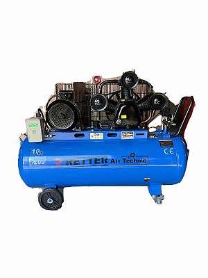 RETTER RT4150 Druckluft Kompressor 200l, ölgeschmiert 3 Zylinder | Druckluftkompressor, Luftdruckkompressor, Luftkompressor, Druckluft, Luftdruckkompressor, Luftdruck, Kompressor, 3 Zylinder, 10 PS, Starkstrom, 200L