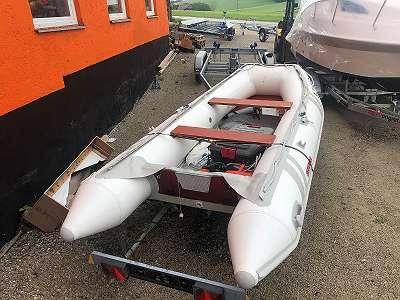 Schlauchboot mit Alu Boden