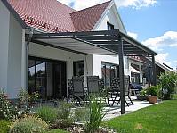 Terrassendach aus Alu 4.5 x 3 m - auch als Bausatz