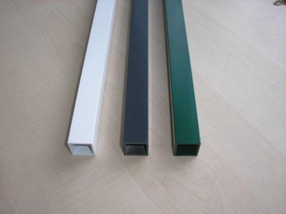 Profil20/20/1,5 mm pulverbeschichten ¤ 3,10-/ m...