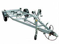 Bootsanhänger Bootstrailer 1300 Nutzlast 990 kg Neu inkl 2 Stk Spann-Gurte + Absperrschloss