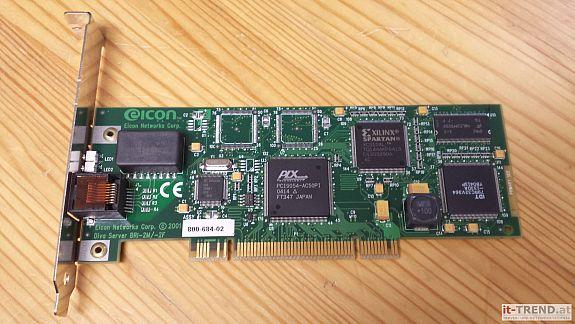 Eicon DIVA Server BRI-2M, PCI ISDN Card