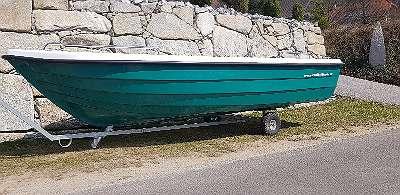 400 LAKE Angelboot Ruderboot Motorboot Elektroboot Badeboot Familienboot Fischerboot GFK BOot Paddelboot Fuchs BOot