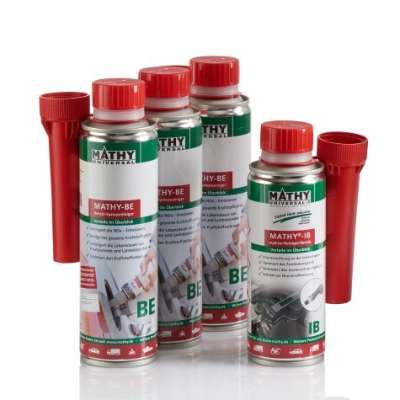 MATHY Benzin-Kur = 3 x 250 ml MATHY-BE + 1 x 200 ml MATHY-IB