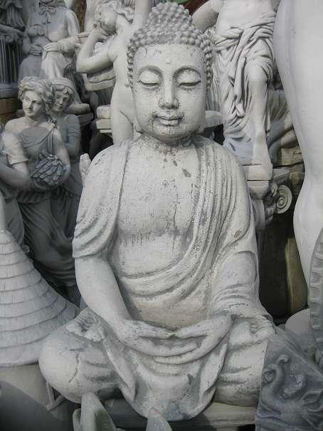 Buddha Steinfigur 66 Cm 63 Kg Japanischer Garten