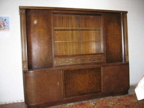 Wohnzimmerschrank Um 1950 Kostenlose Zustellung Bordsteinkante